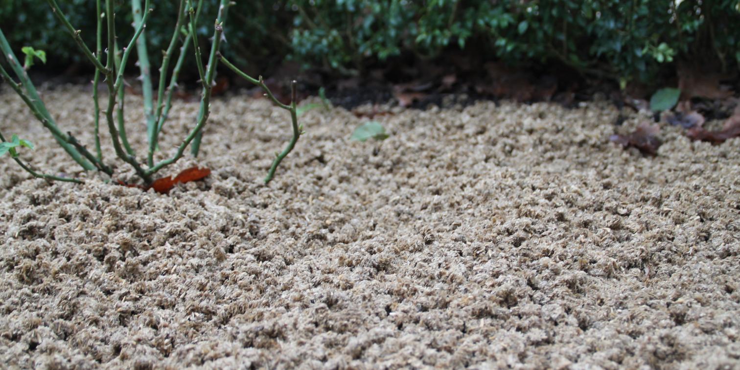 CoSoil; dé natuurlijke oplossing voor een onkruidvrije bodem